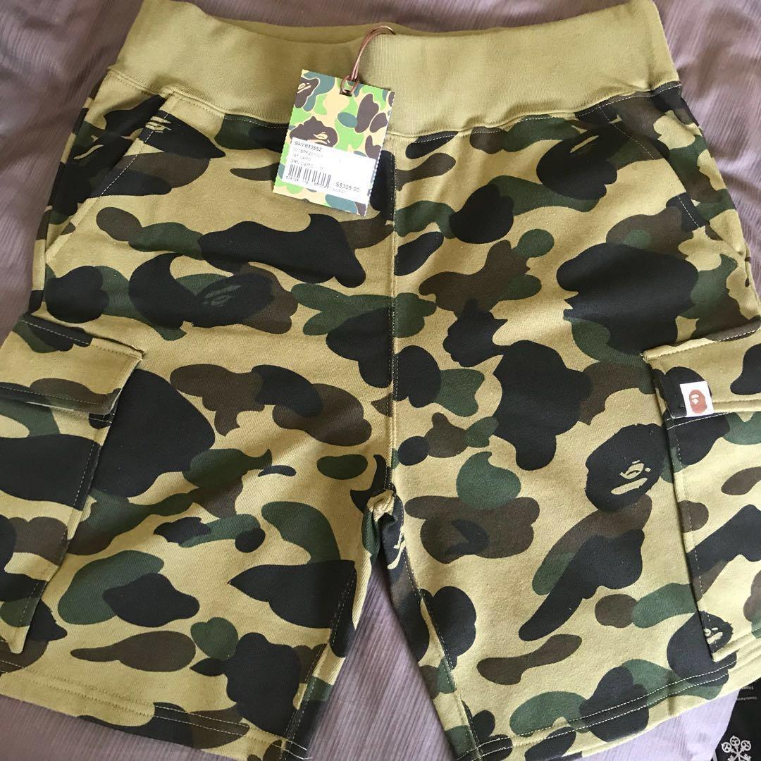 17d94e5a Bape 1st Camo 6 pocket sweat shorts, Men's Fashion, Clothes on Carousell