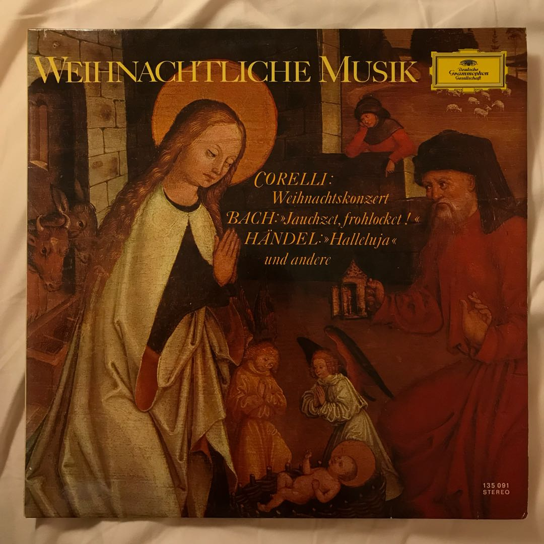 Baroque Christmas Choral Music DG 135091, Music & Media, CDs, DVDs ...