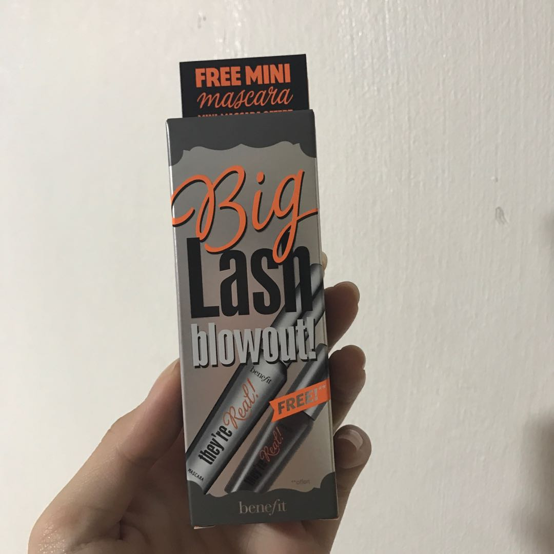 d2e64a3c7f0 BNIB Benefit Big Lash Blowout, Health & Beauty, Makeup on Carousell