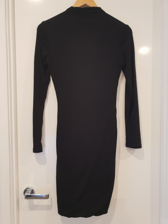 BNWT ILLIOU BLACK DRESS | SIZE 8