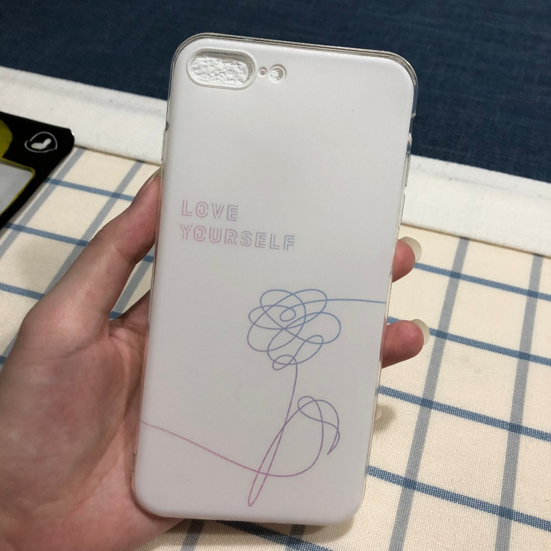 BTS Love Yourself iPhone 7/8 plus Cover
