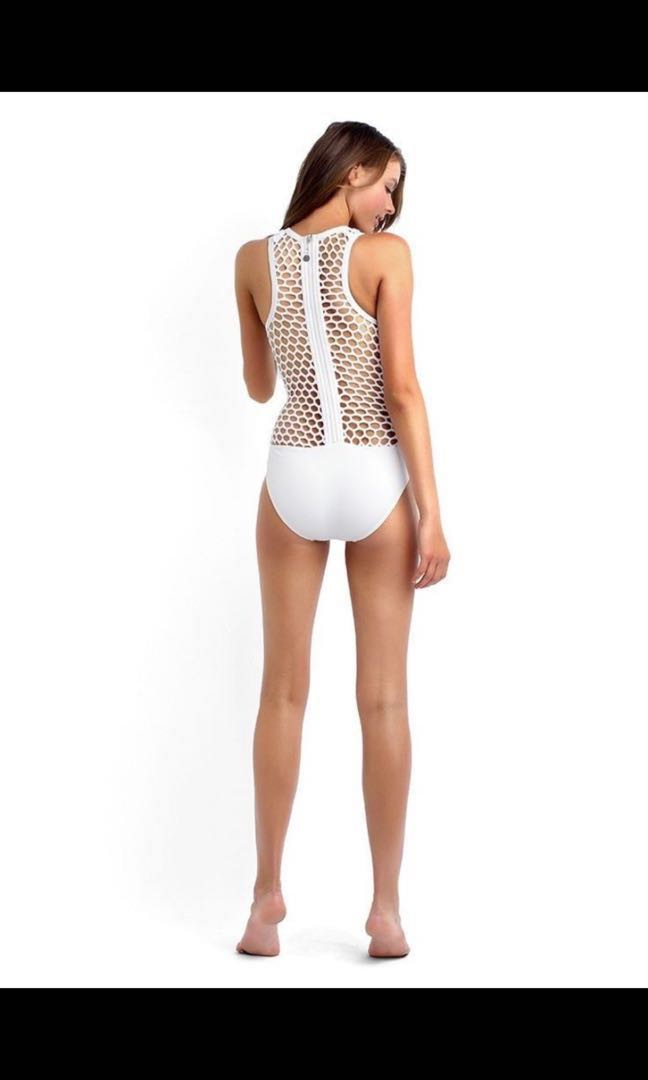 Clearance! - New White One Piece - Size 8 With Tags - Awesome Bargains!