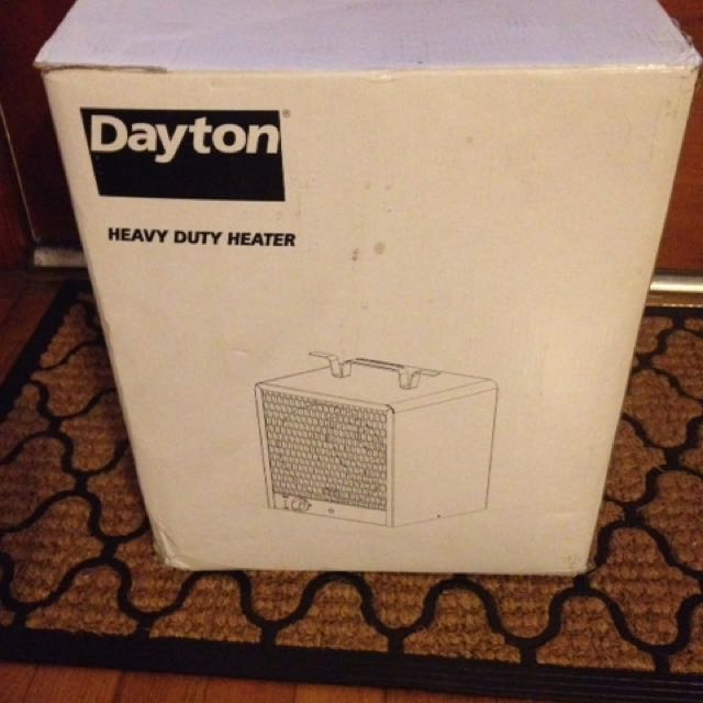 Dayton Heavy Duty Heater 3VU35B