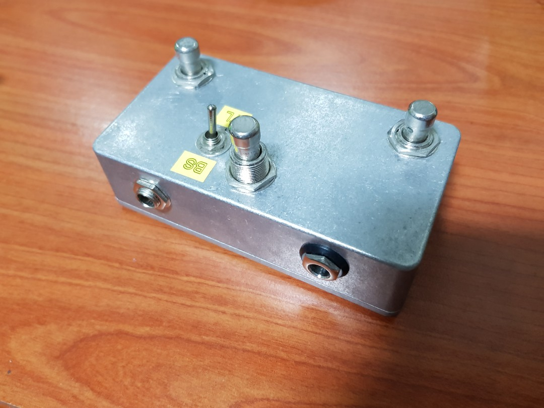 DIY Strymon multiswitch