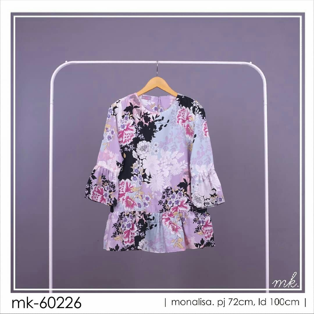 Flower Monalisa Olshop Fashion Olshop Muslim Di Carousell