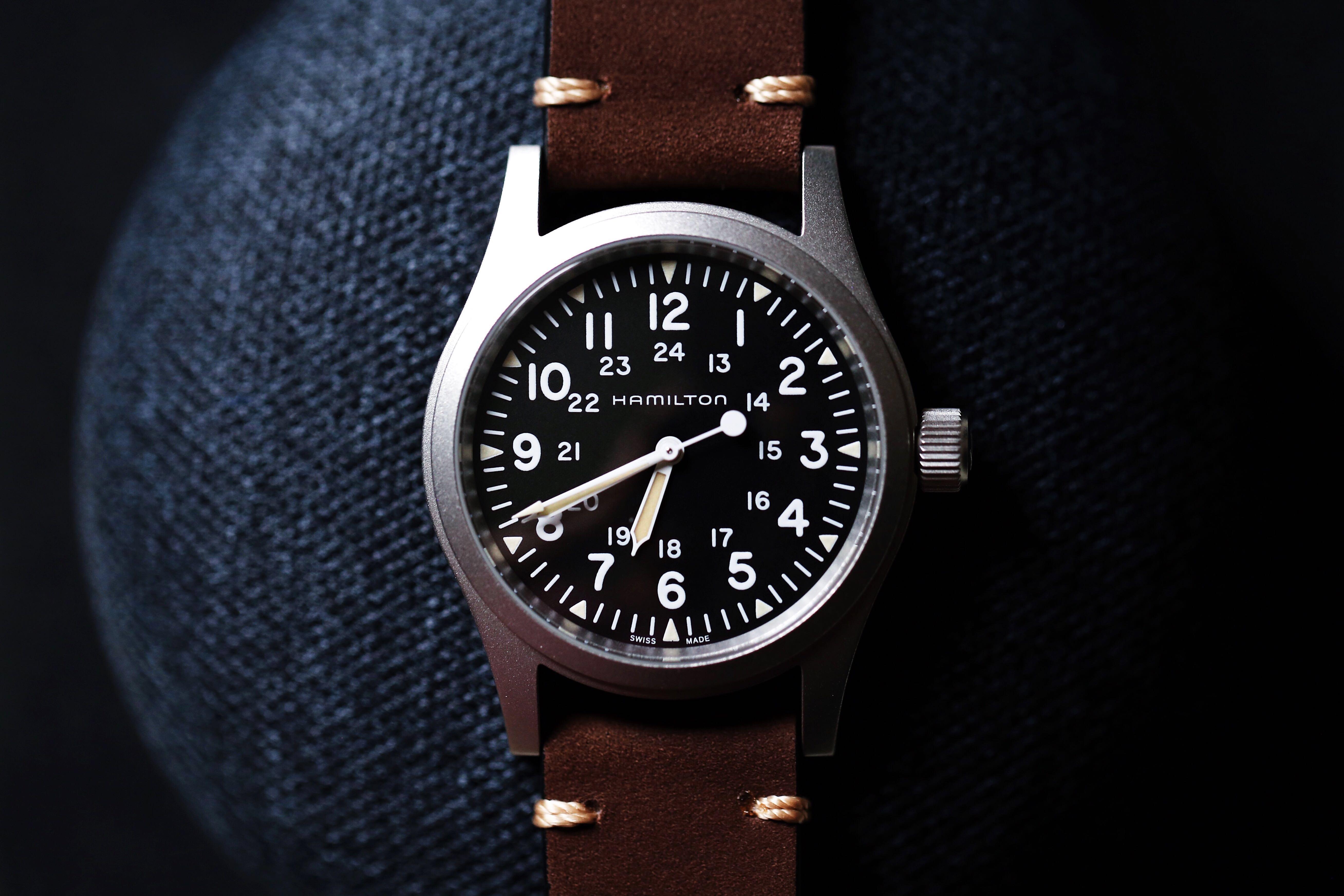 Full Set Hamilton Khaki Field Mechanical Watch Men S Fashion