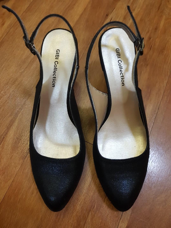 d33b6479647f ... gibi black slingback shoe women s fashion shoes on carou ...