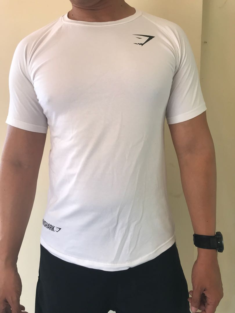 Gymshark Form Fitted T Shirt Sports Apparel On Carousell Singlet Fitness Adidas