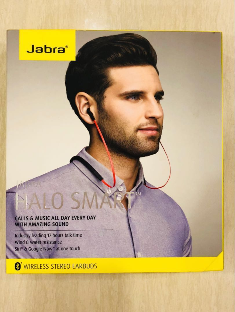 ad371cb4947 Jabra Halo Smart Bluetooth Headset - OTE28, Electronics, Audio on Carousell