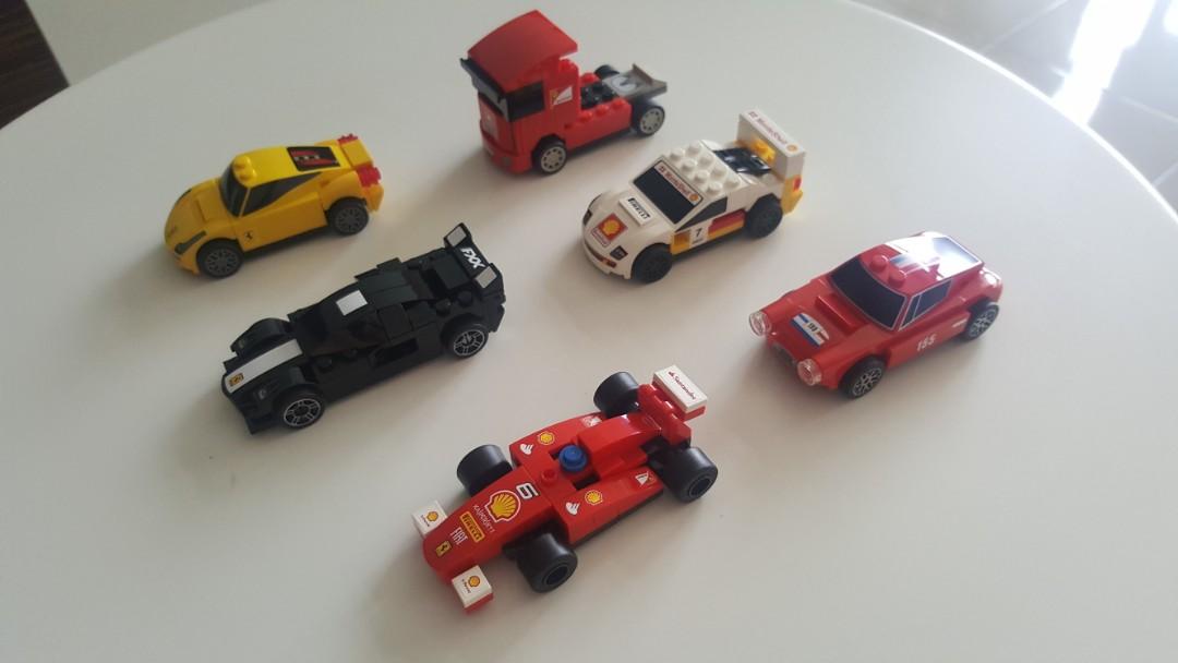 Lego Shell Ferrari Collectable Car