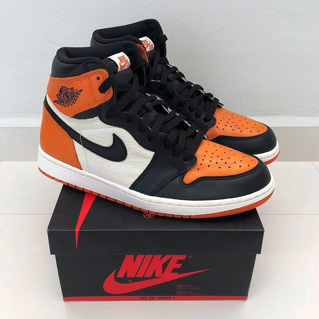 b6a1a04e31ef Nike Air Jordan 1  Shattered Backboard