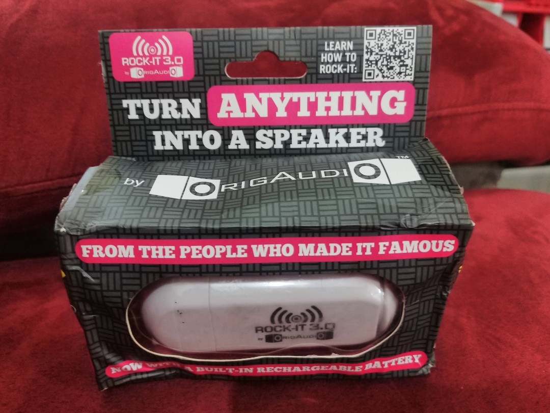 origaudio rockit 3 0 compact speaker electronics others on carousell