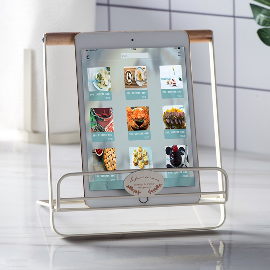 PO Nordic Style Kitchen Recipe Book Ipad Tab Holder, Home Appliances ...