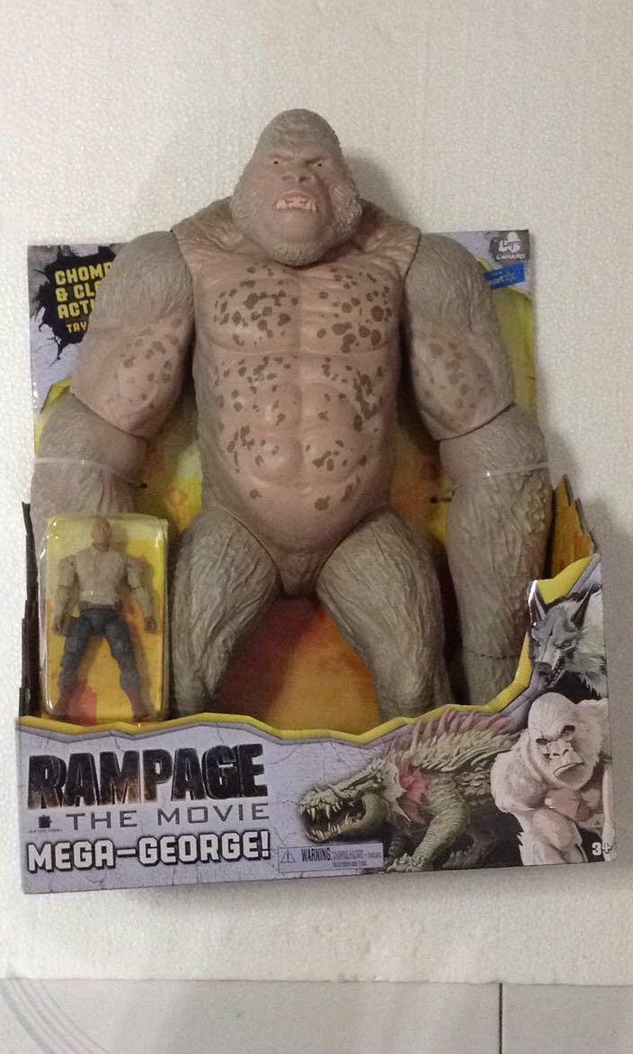 Rampage 16 Mega George Figure Is 3 75 Inch Tall Toys