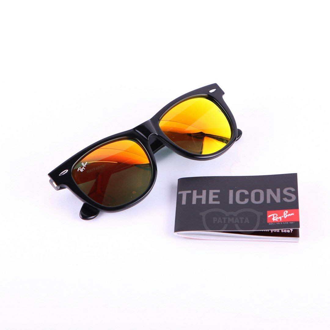 45f8347e2 Rayban Wayfarer Orange Mirror, Men's Fashion, Accessories, Eyewear &  Sunglasses on Carousell