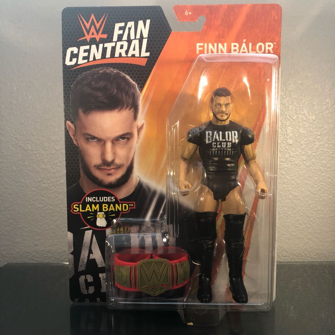 Reserve Early Wwe Fan Central Toys R Us Exclusive Finn Balor