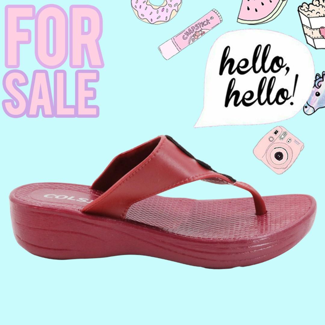 0af99ee9745af Rose Women s Slides Flat Slippers Sandals (Red)