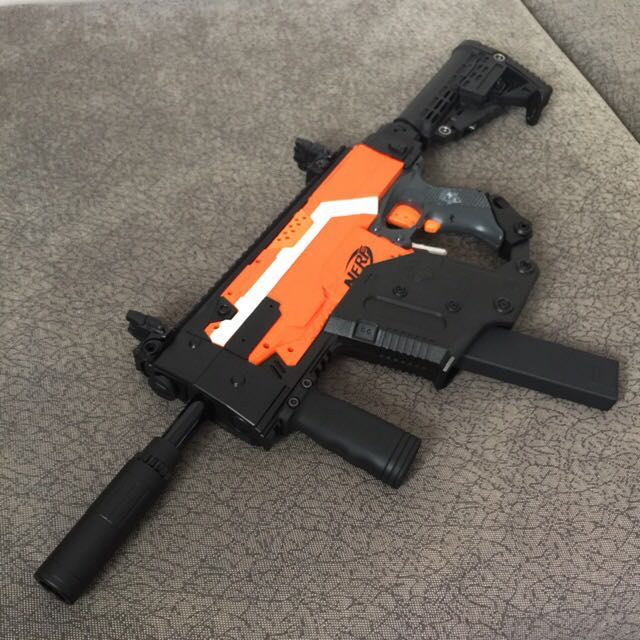 (Sold Out )Worker Kriss Vector Mag Conversion For Nerf Stryfe, Toys &  Games, Bricks & Figurines on Carousell