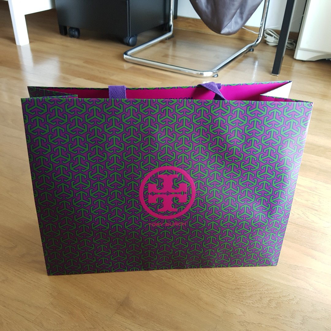 74571f68296 Tory Burch Paper Bag - 2 pieces