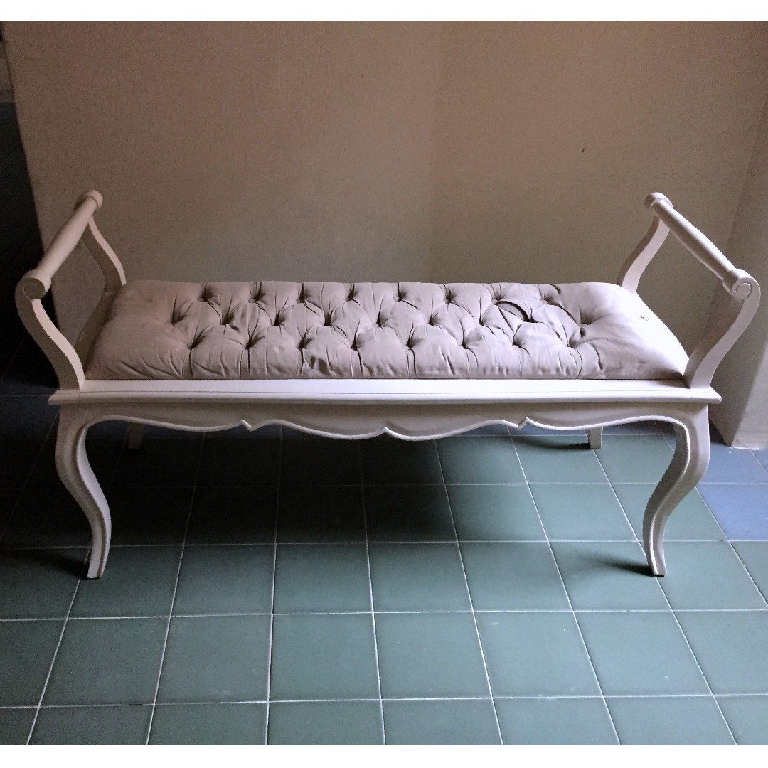 Wood Sofa Bench Furniture Sofas On Carousell