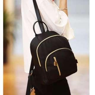 Black Korean Backpack