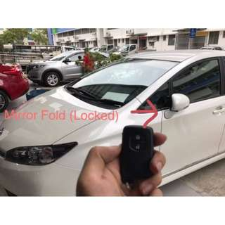 Toyota Wish Auto Fold Module 2009-2018. also suitable various Toyota Honda Nissan Lexus model