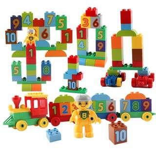 Number Train blocks
