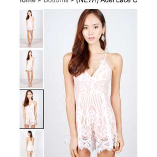 TheoryOfSeven White Playsuit