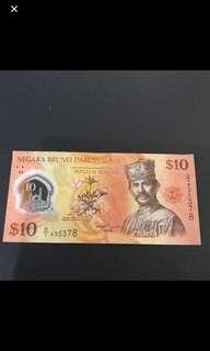 Brunei Darussalam $10