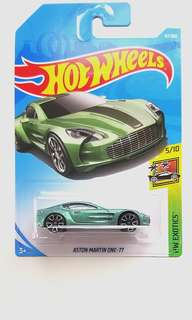 Hot Wheels Aston Martin One-77