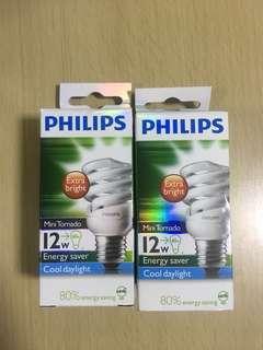飛利浦慳電膽 燈膽 Philips