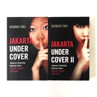 JAKARTA UNDERCOVER 1 & 2 Books