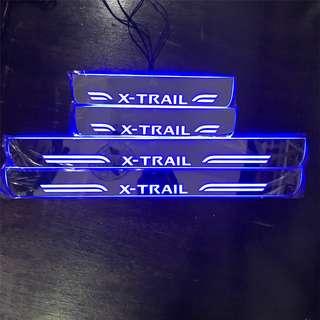 Nissan X-TRAIL LED scuff plate 2014-2018