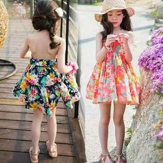 花花沙灘裙