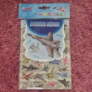 Sticker Set with Album <Fighter Jets>