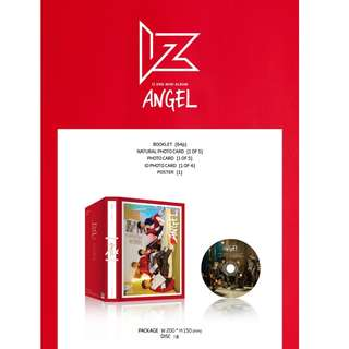 [PREORDER] 아이즈 (IZ) - ANGEL (2ND Mini Album)