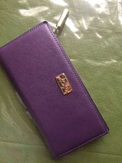 Xoxo Purple Wallet