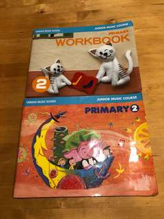 Yamaha Junior Course Primary 2 Textbook and Workbook