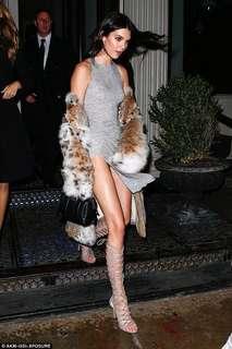 Kendall Party Slit Dress