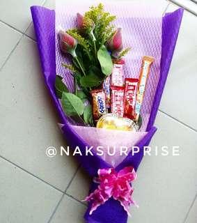 Chocolate Bouquet Design 1