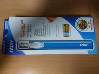 🚚 (原價3199)msi a4手持式掃描器ps a4a 全場最低價 分享有緣人