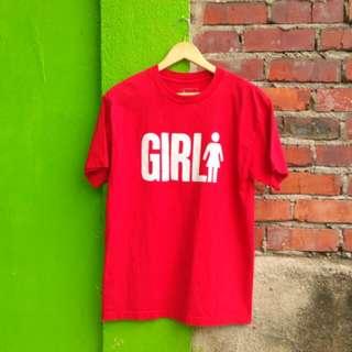 Girl Skateboard Tee