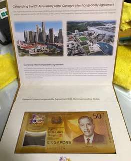 Commemorative Notes - complete set w original folders