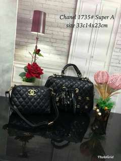 Chanel Handbag 2 in 1 Black