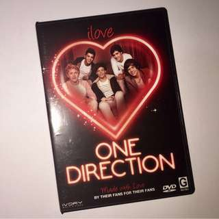 I Love One Direction DVD