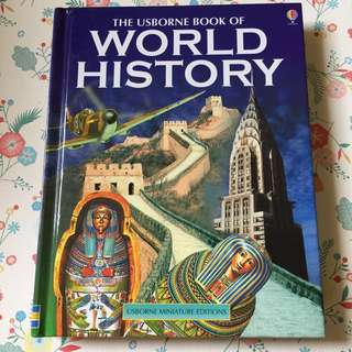 Usborne World History & Timelines of World History