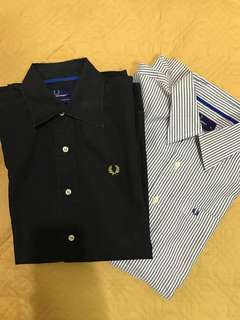 Fred Perry shirt bundle