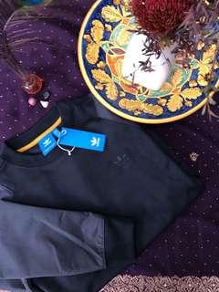 Adidas Originals   St Fashion Crew   Black Sweatshirt  