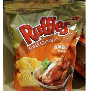costco RUFFLES 雞汁口味厚切洋芋片 450G #73107