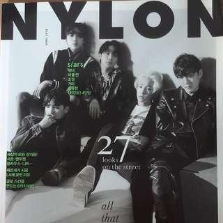 Nylon 韓雜 2016年4月號 WINNER